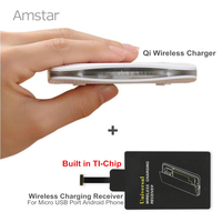2016 New Fast Charge Wireless Charger Qi Wireless Charging Receiver Pad Coil For Android Phone Micro
