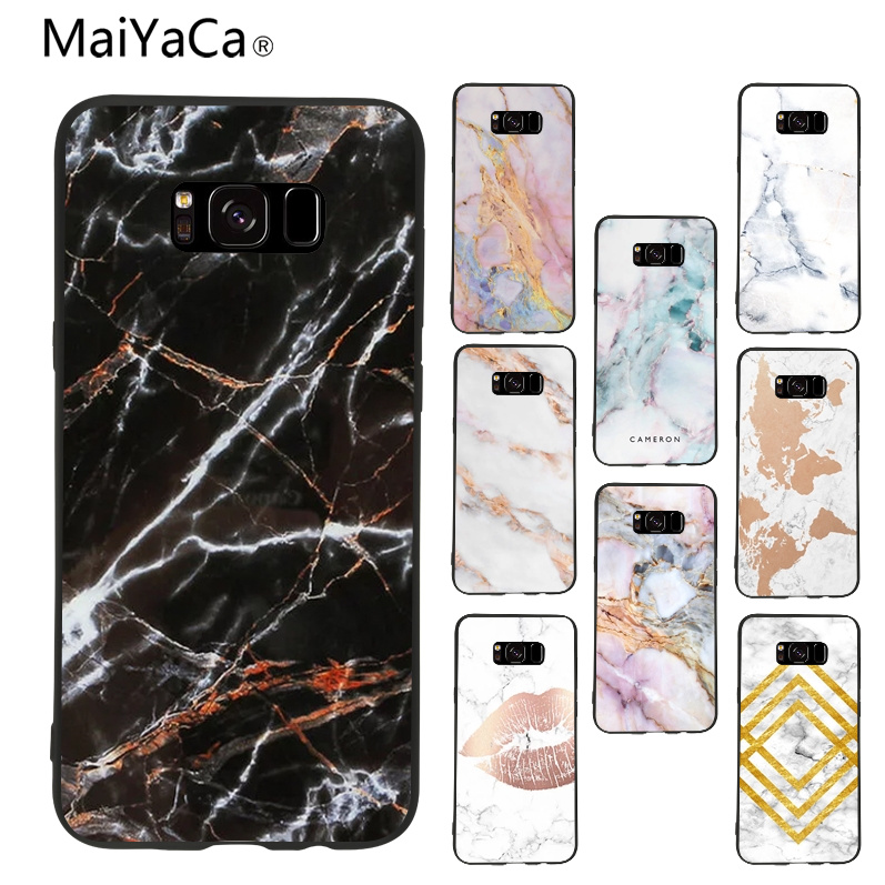 maiyaca Marble Classic image paintings cover mobile phone Case For samsung galaxy s8 s7 edge s6 edge plus s5 case