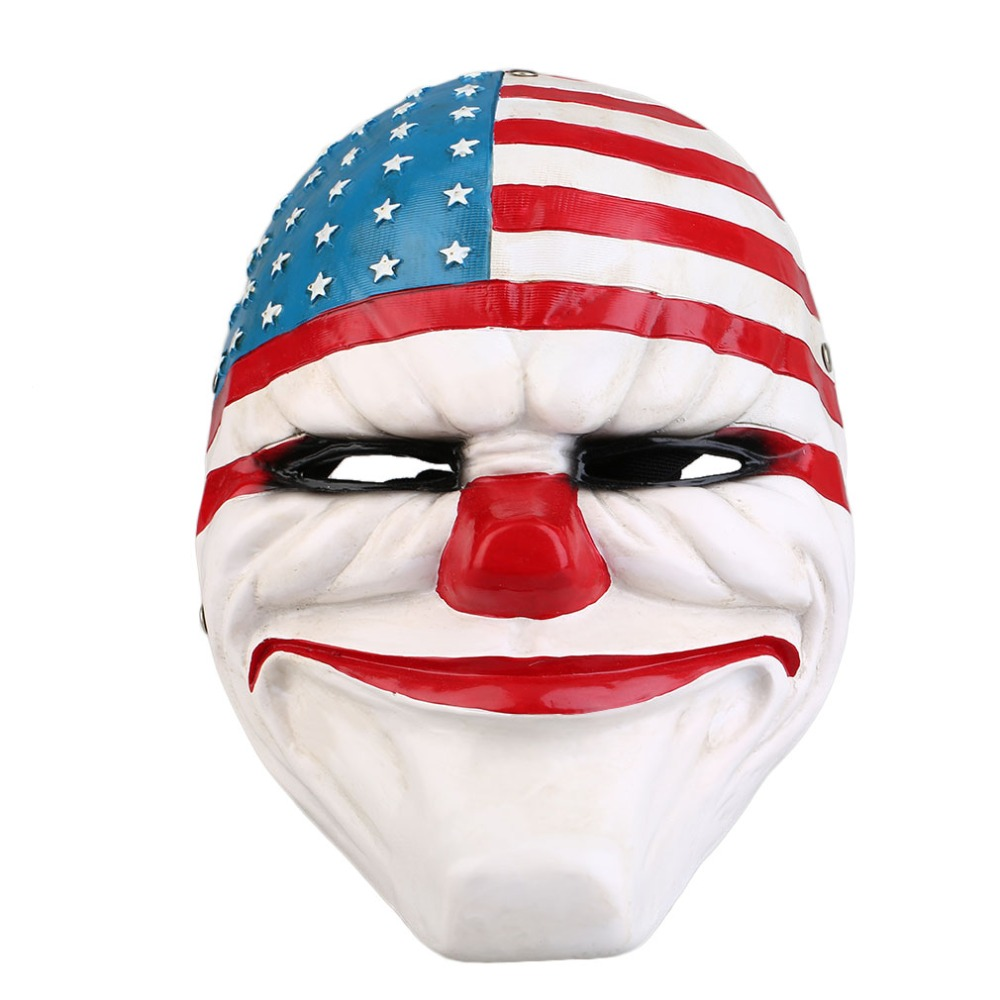 Harvest Flag Theme Party Mask Of The Game System Class Mask Dance Party Decoration Wedding Props Grade Resin Full Face Mask
