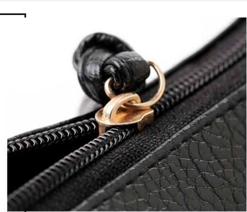 bolsa do homensageiro bolsas de Texture OF Material : PU Leather