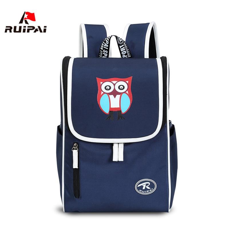 RUIPAI Nylon Cartoon Printing Children Backpacks Orthopedic Kindergarten School Bags for Girls Boys Kids Primary School Backpack