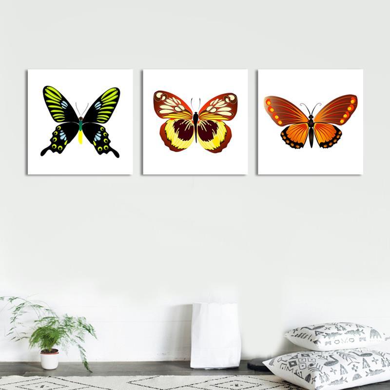 Fantástico Marcos De Cuadros Con Mariposas Ornamento - Ideas ...