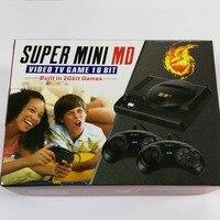 SUPER mini 16 bit AV out family games TV video game console free 16 BIT 208 sega games