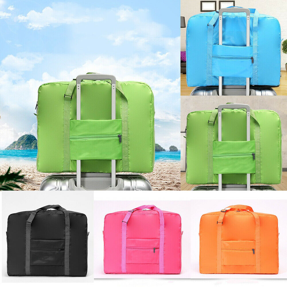 2019 newest Waterpoof Luggage Storage Bag Travel Carry-On Duffle Portable Foldable Bagga ...