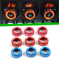 For Brz Toyota 86 Luminum alloy air AC knobs car covers Switch knobs decoration STI TRD Sticker