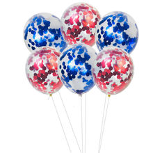 10pcs confetti balloon 12inch latex child birthday party decorations wedding ballon helium big transparent