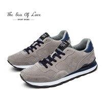 2018 חדש סגנון אופייני נעלי ספורט גברים נעלי ריצת נעלי התחרה Up רשת עליונה פעילויות חוצות נעלי נוחות נעלי ספורט סניקרס