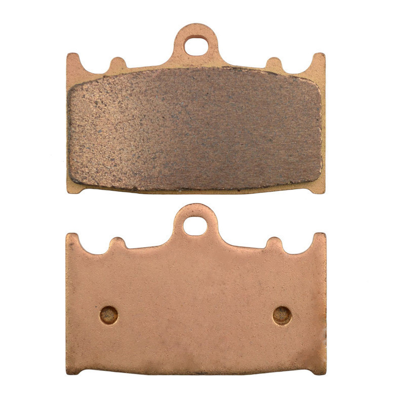 Motorcycle Parts Copper Based Sintered Brake Pads For BERINGER 4 Piston Caliper Front Motor Brake Disk #FA158