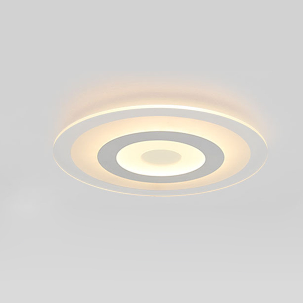 US $56.0 |Nuovo Cerchio Illuminazione Interna Moderna Plafoniere a LED per  Soggiorno camera Da Letto Lampada lamparas de techo abajur Lampada A ...