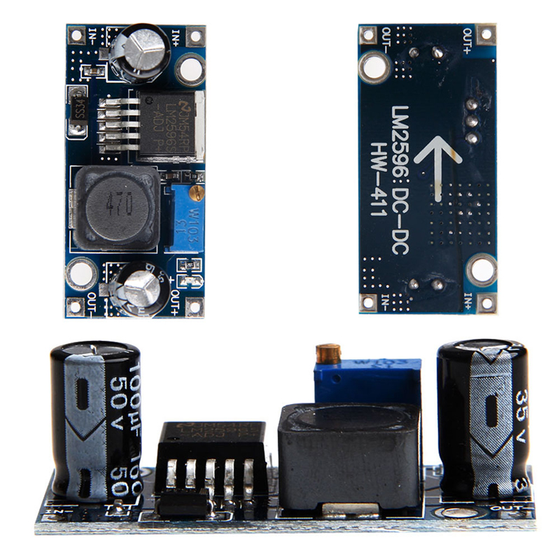 LM2596S-ADJ DC-DC Switching Step Down Module Power Supply Converter 12V 24V