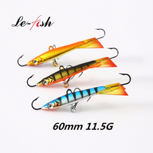 3Pcs/Box  Ice Balance Jig Hard Lure Wobbler 11.5g 21.5g Jigging Lure Ice Fishing Jig Head with VMC Hook for Winter Fishing Lures