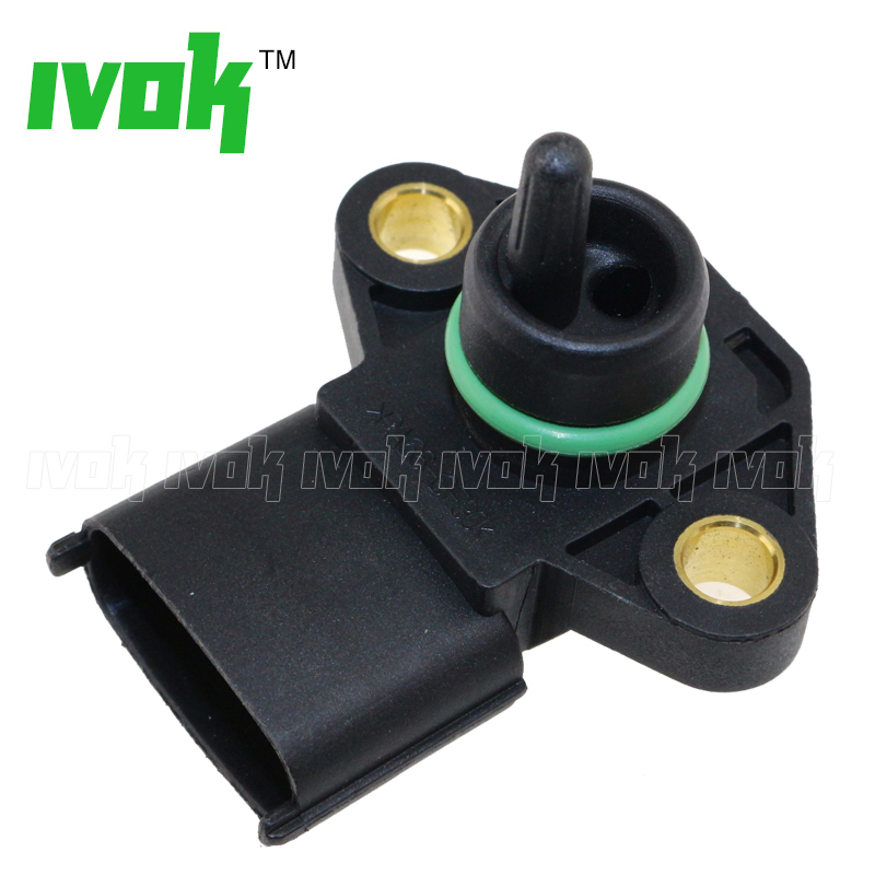 100% Test Turbocharger Boost Pressure Safety Switch MAP Sensor For Hyundai KIA Cerato K2500 Pregio 39200-42020 5wk96841 2045431 4bar 4 bar manifold intake air pressure sensor map sensor for renault peugeot 405 kia pride hyundai citroen