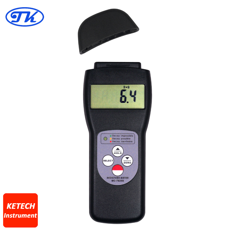MC-7825S Over 150 Species Search Type  Wood Moisture Tester search type tobacco moisture meter mc 7812