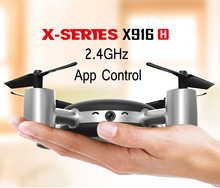 MJX X916H Mini Wifi Drone 0.3MP Camera RC Micro Quadcopter 2.4GHz 6-Axis Gyro Headless Mode With APP Control