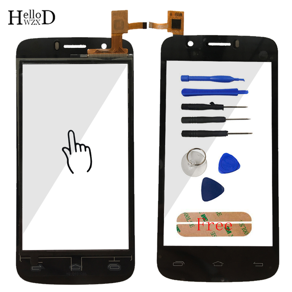 4.5 Smartphone Touch Glass For Prestigio MultiPhone Pap 5453 Pap5453 Duo Front Screen Digitizer Panel Lens Sensor Tools Adhesive