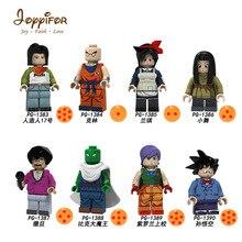Joyifor Drogan шары Сон Гоку какаротто мастер Wu Piccolo kuriririn строительные блоки мини фигурки кирпичики для детей игрушки