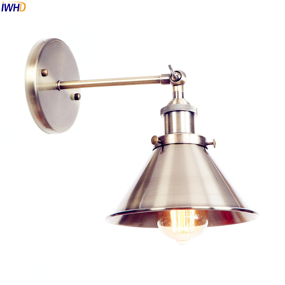 Lighting Stores And Light Fixtures: Aliexpress.com : Buy IWHD Brass Color Retro LED Wall Light