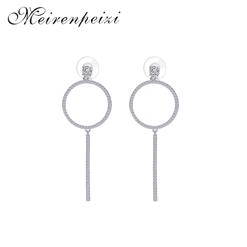 Elegant fashion Big Drop Earrings For Women New Large Trendy Geometric Jewelry Accessories
