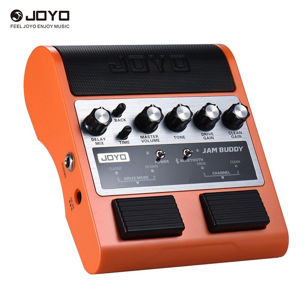 JOYO JAM BUDDY Portable Rechargeable Bluetooth 4.0 Dual Channel 2 * 4W Pedal Style Guitar Amplifier Amp Speaker