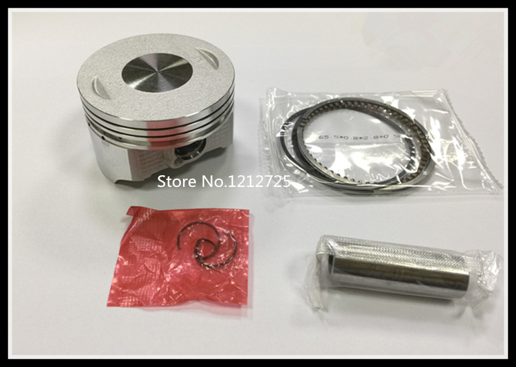 """Sealed Power Chevy 400 4.165/"""" Flat Top Pistons /& Moly Ring Kit SBC 040 H616CP40"""