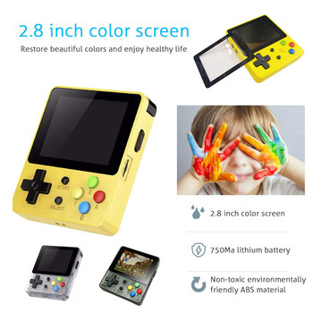 Game Screen by 2.6 Thumbs Mini Palm Palm Console of Nostalgic Game Children