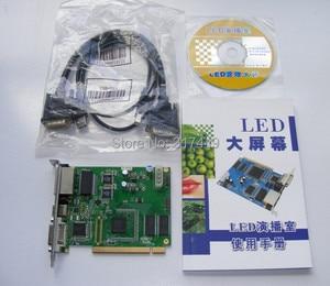 Image 5 - Linsn 801/802 kontrol sistemi 1 gönderme kartı sd801D/sd802D + 1 alma kartı rv801D/RV908D + hub75 kart + dvi kabloları, usb kabloları