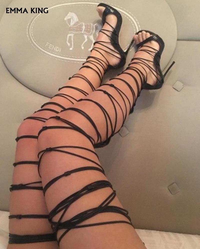 Soirée Rouge Dames Mujer À Noir Talons Mode D'été Haute Femme Hauts Beige argent Sandalias Chaussures rouge De noir Lacets Sexy Sandales Serré Toe 2019 Peep or Femmes xRwqUw6