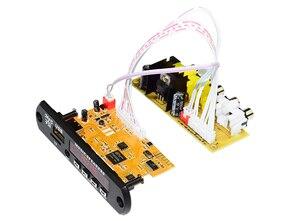 Image 2 - Плата декодера для стереовидео DIY TV BOX RM/RMVB FLAC APE BT электронная книга аудио декодирующий модуль MP3 AUX CVBS DDR2 U диск и TF USB FM