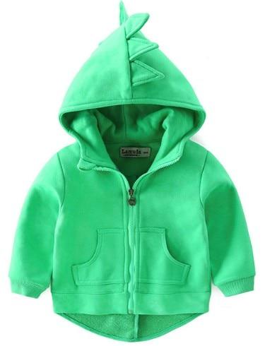 autumn children coat hoodies boys girl cotton fashion cute sweatshirt cartoon monster dinosaurs baby toddler