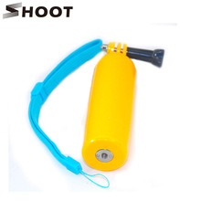 SHOOT Gopro Bobber Floating Selfie Pole Stick With Screw Hole For Go Pro Hero 4 3 3+ 4 session SJCAM SJ4000 SJ5000 Xiaoyi 4K H9