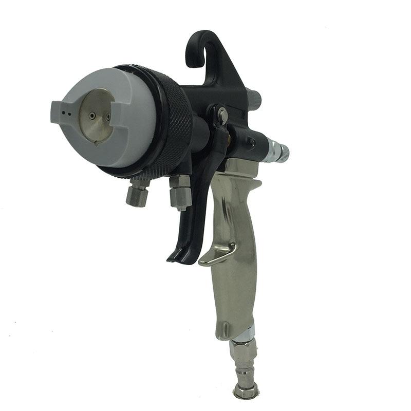 SAT1205 värvipüstol hvlp õhuvahu pihustuspeegel kroomvärv nano - Elektrilised tööriistad - Foto 6
