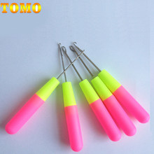 TOMO 1 Pcs Hook Crochet Needle For Synthetic Hair Extension Tool And Making Jumbo Senegalese Twist Micro Braids Wigs Hot Selling(China)