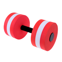 1 Piece Water Aerobics Aquatic Dumbbells EVA Foam Barbell Pool Workout Exercise Tool for Swimming Spa Fitness Exercises