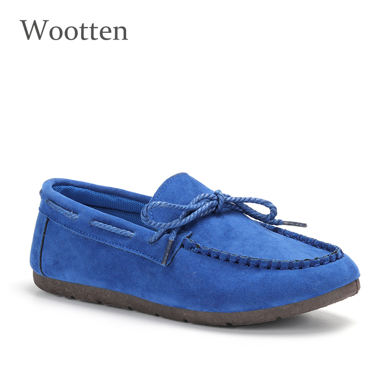 Moccasin womens four colors autumn soft brand top quality fashion suede casual loafers #WX810401 69