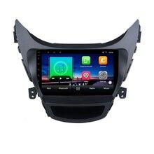 9 «2G Оперативная память 32G Встроенная память 2.5D ips экраном android-автомобильный DVD видео плеер gps для Hyundai Elantra MD Avante I35 2012-2017 радио навигации
