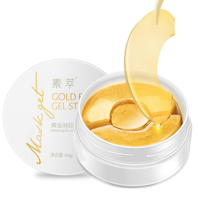 SOON-PURE-Gold-Aquagel-Collagen-Eye-Gel-Sticker-90Pcs-Ageless-Sleep-Eye-Mask-Remove-Dark-Circles (1)