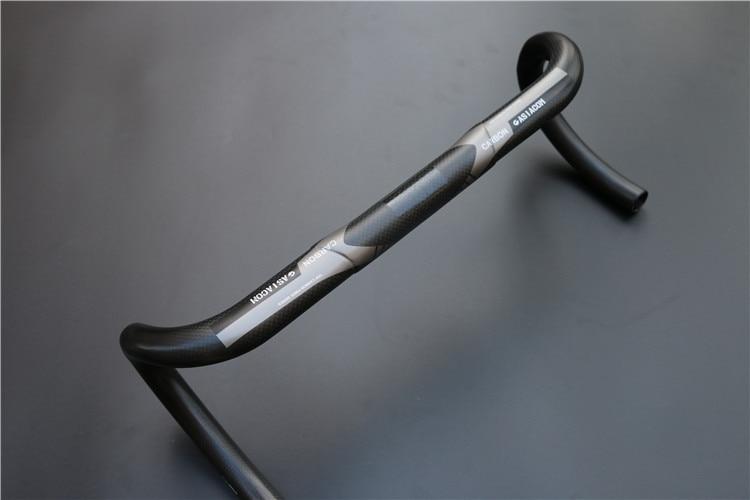 ultralight 3K road bike carbon handlebar black handlebar size 400/420/440mm carbon drop handle bars road bike handlebar matt or gloss black 31 8 420mm