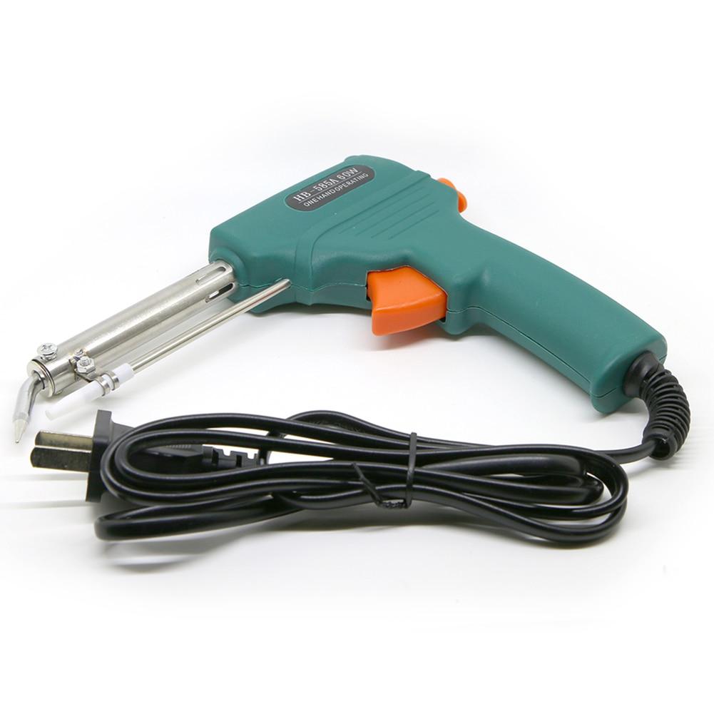 External Heat Type 60W Automatic Send Tin Welding Soldering Iron Gun 0.8-2.3mm