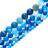 Blue stripe agate