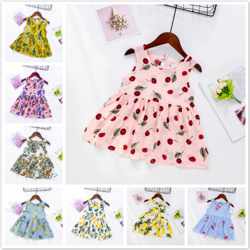 Cute Dress Toddler Kid Baby Girl Long Sleeve Floral Party Princess Boho Pageant Dress