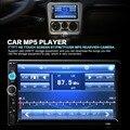 2016 Nova 7010B 7 ''HD Tela de Toque do Bluetooth Estéreo Do Carro 2-DIN Rádio FM/MP5/MP3/USB/AUX-IN Jogador + 420 Linhas de TV câmera