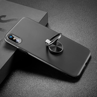 Baseus Case For IPhone X Kickstand Ultra Thin Finger Ring Holder Case For IPhone X Cover