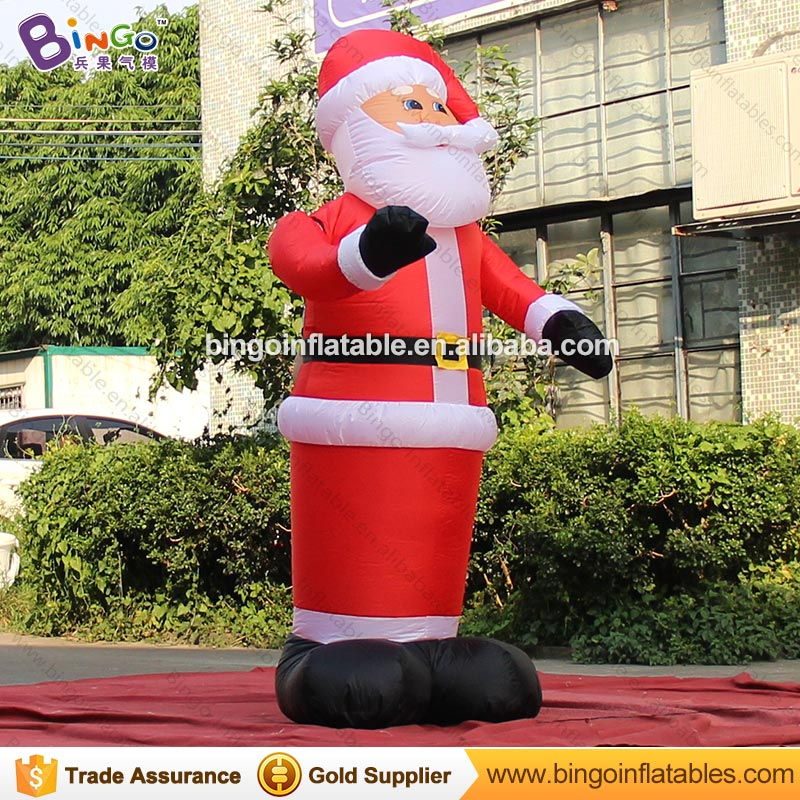 Customized 1.8 meters tall inflatable christmas wave santa hot sale inflatable christmas old man for display toysCustomized 1.8 meters tall inflatable christmas wave santa hot sale inflatable christmas old man for display toys
