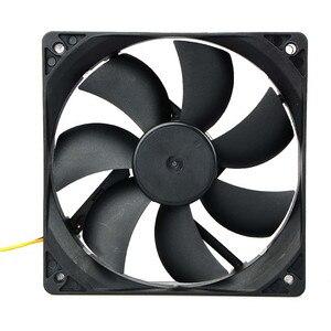 120*120*25 мм вентилятор охлаждения корпуса компьютера DC 12V 3 pin разъем вентилятор охлаждения для ПК для ЦП излучающий для рабочего стола Прямая п...
