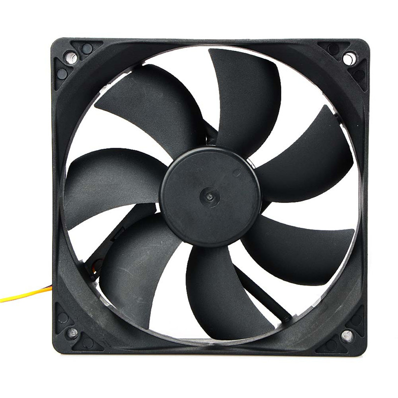 120*120*25 MM Computer Case Cooling Fan DC 12V 3Pin Connector PC Cooler Fan For CPU Radiating For Desktop Drop Shipping