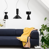 Nordic Modern Pendant Lights Kitchen Lamp Vintage Hanglamp for Loft Ceiling Living Study Dining Room LED Lighting Home Decor