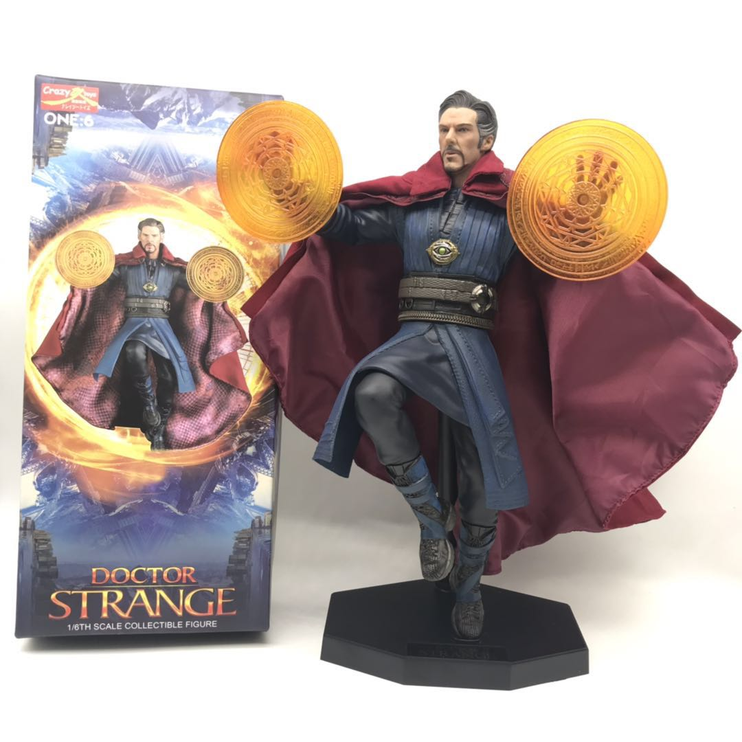 """12"""" New Crazy Toys Avengers Doctor Strange 1/6 Scale Collectible Figure PVC Action Figure Collectible Model Toys Gift Doll"""