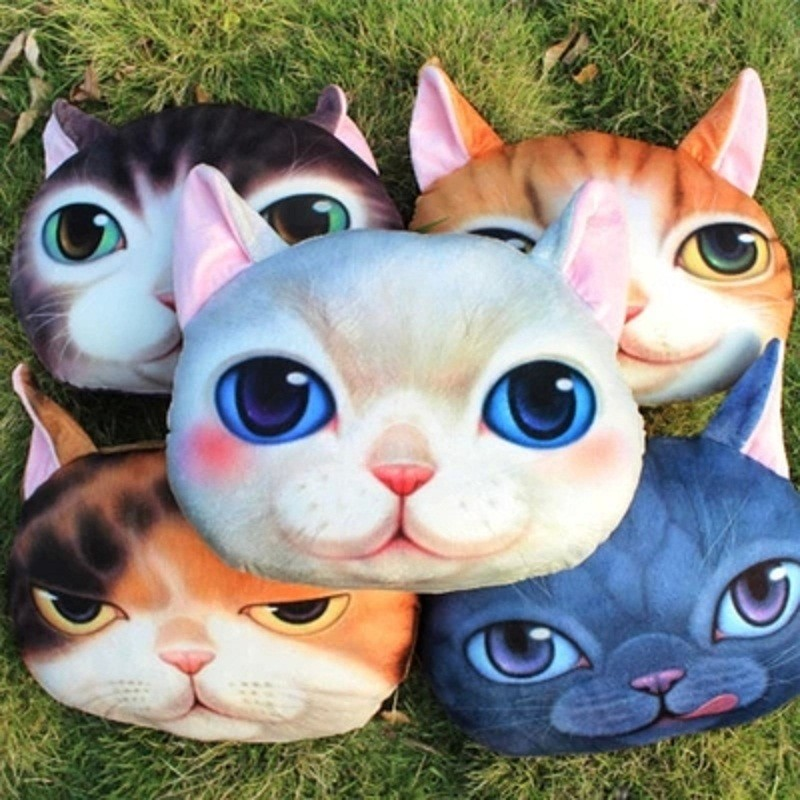 38-40-cm-New-3D-Cute-Cat-Tiger-Nap-Pillow-Cushion-Cartoon-Plush-Toy-Animal-Doll