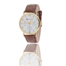 i06 high quality Ladies girl Women Watches New Womens Style Leather Band Analog Quartz Wrist Watches wholesale