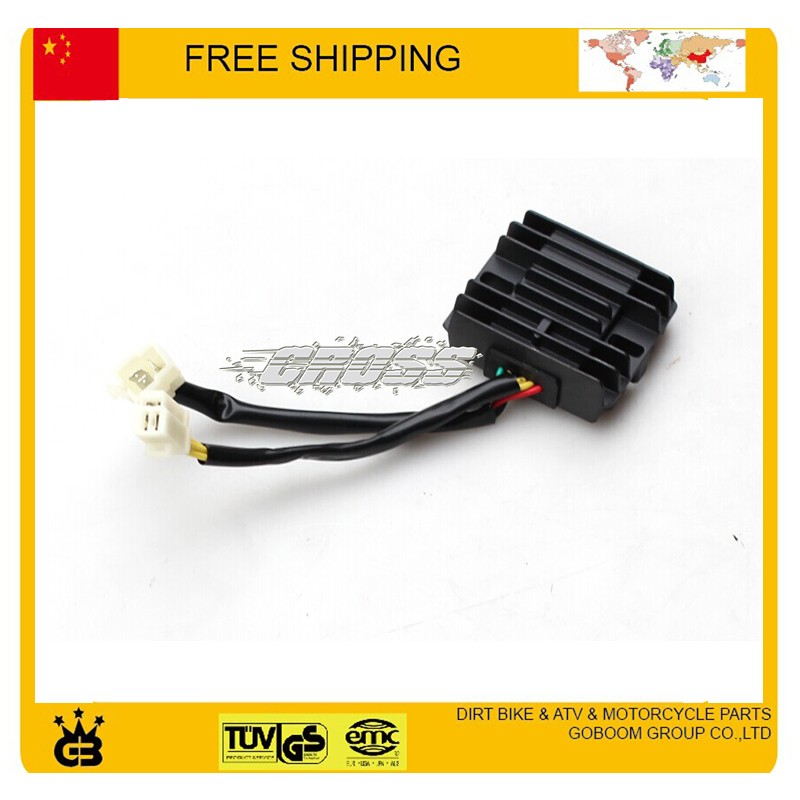 zongshen <font><b>lifan</b></font> loncin RECTIFIER 150cc 200cc <font><b>250cc</b></font> Dirt Pit Bike, ATV, QUAD Motorcycle Rectifier <font><b>parts</b></font> free shipping image